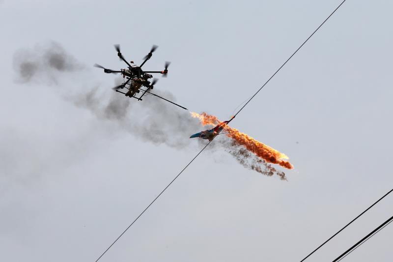 無人機除異物技術服務